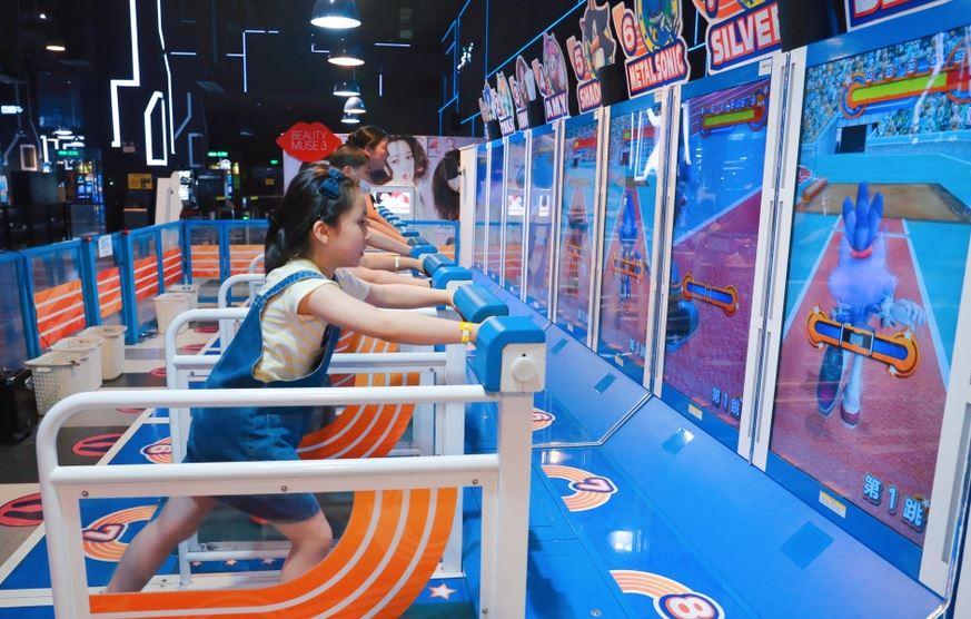 """""""高科技体感运动健身与万博虚拟体育竞技游戏大受欢迎"""